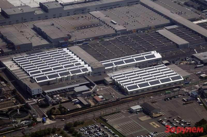 Toyota завод