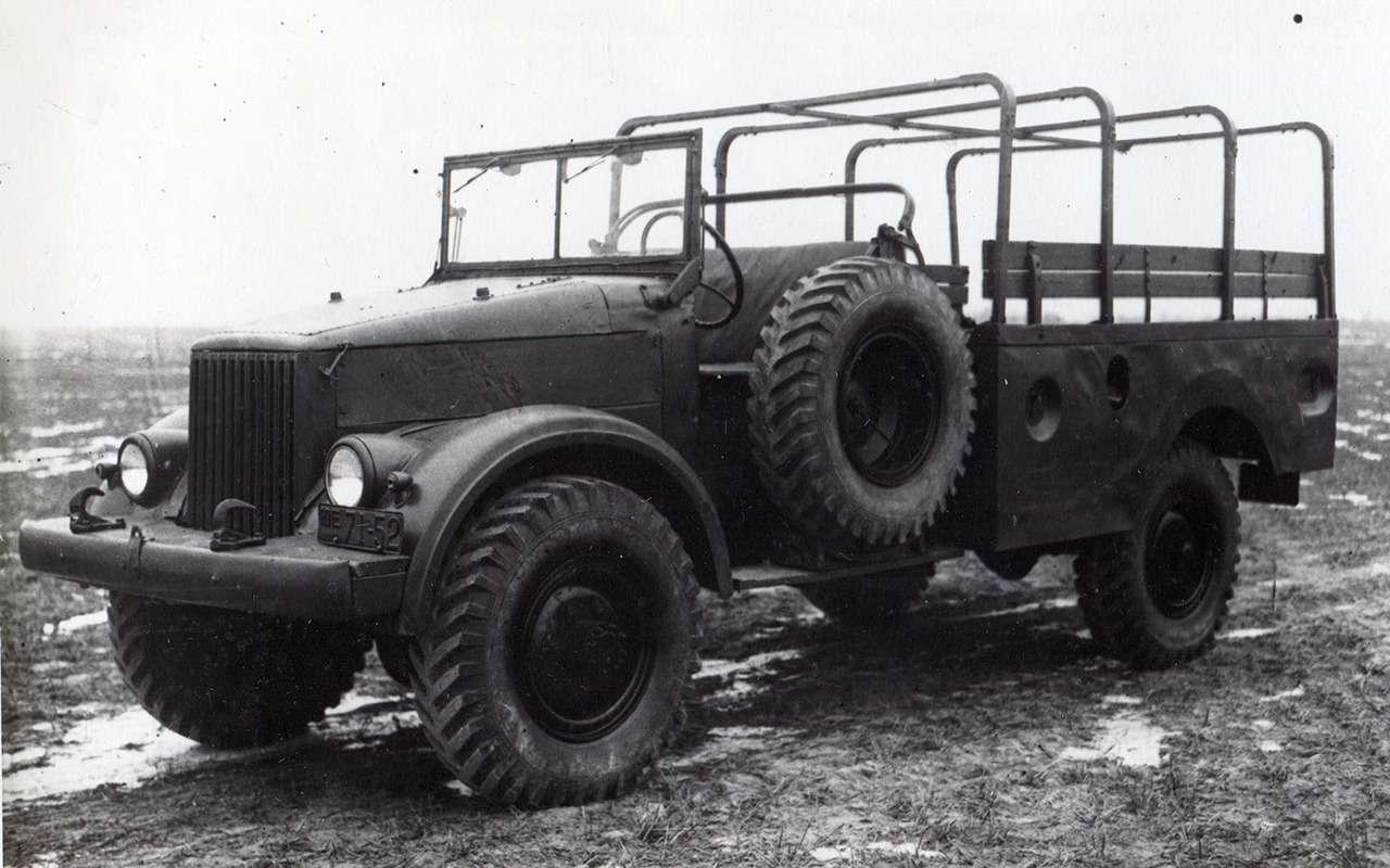 Самый популярный грузовик СССР— такого ГАЗ-51вы невидели— фото 961765