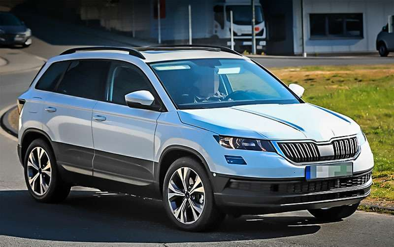 skoda karoq first test drive of a successor yeti. Black Bedroom Furniture Sets. Home Design Ideas