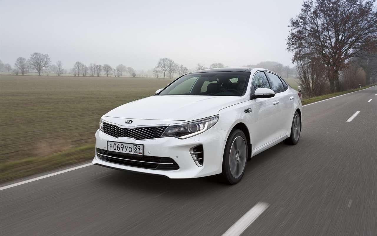 Что лучше: новая Toyota Camry или Kia Optima?— фото 859444