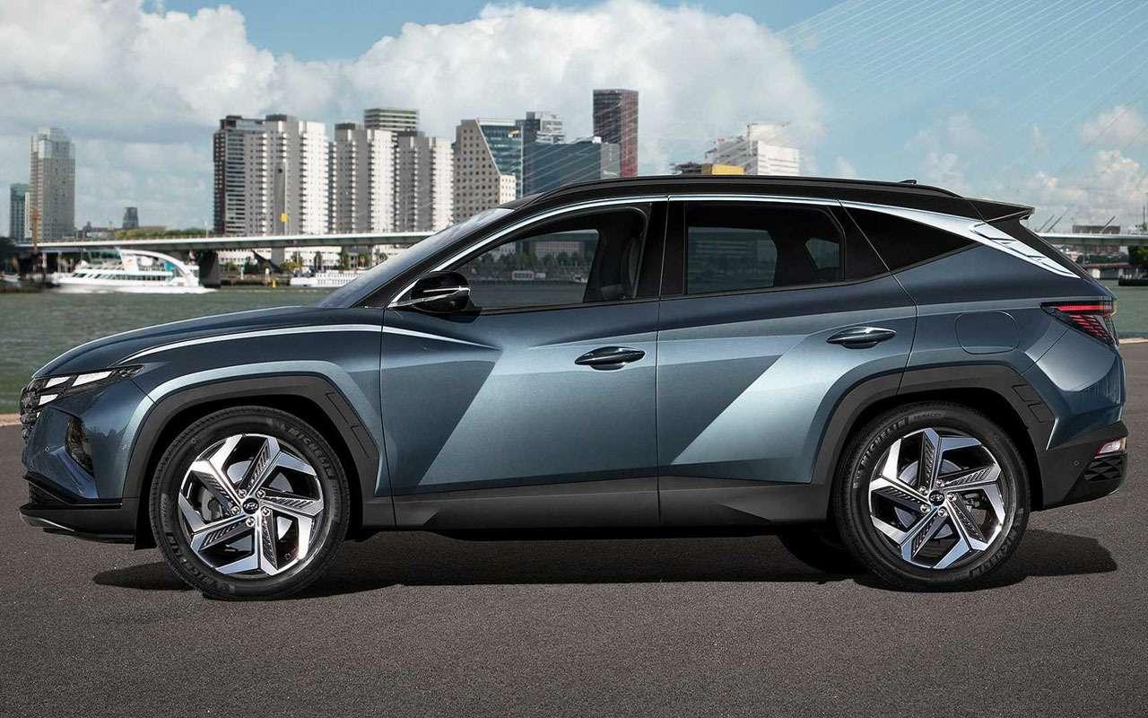 Новый Hyundai Tucson— все особенности— фото 1167534