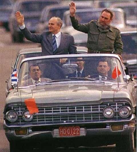 ВАЗ-2108и другие автомобили Фиделя Кастро— фото 670102