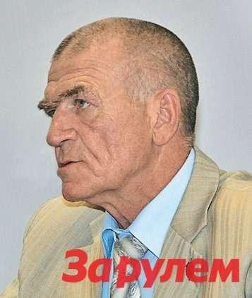 Николай Дружинин, президент Межрегиональной Ассоциации ветеранов криминальной милиции «ОПЕРА»