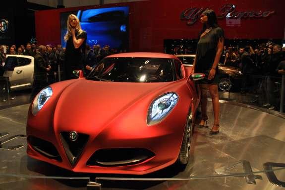 Alfa Romeo 4CConcept front view