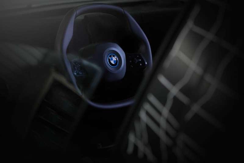 Руль электромобиля BMW iNEXT