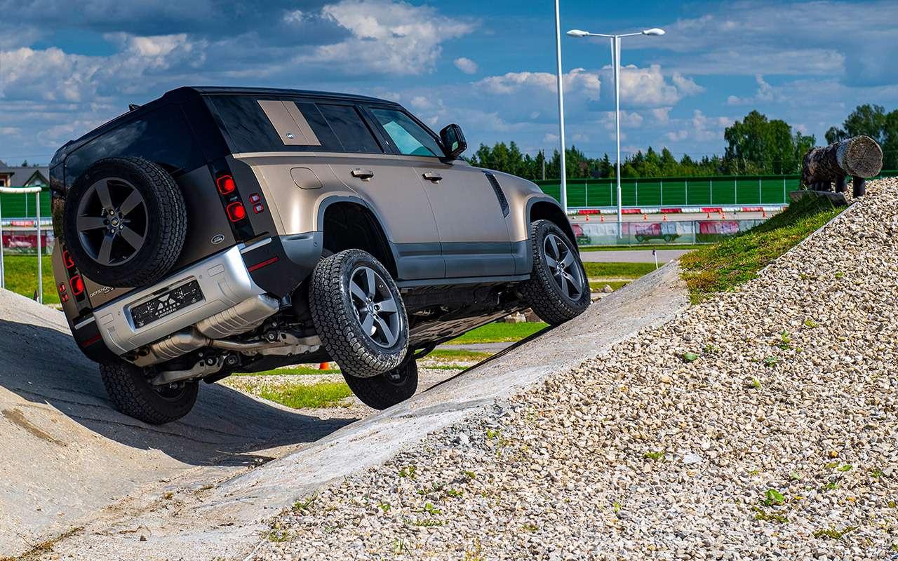 Новый Land Rover Defender: первый тест в России - фото 1172490