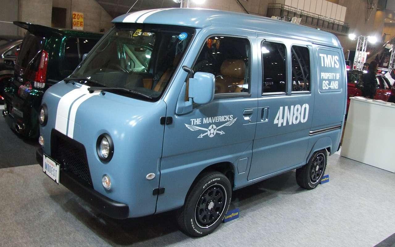 японский тюнинг УАЗ подSuzuki Wagon R