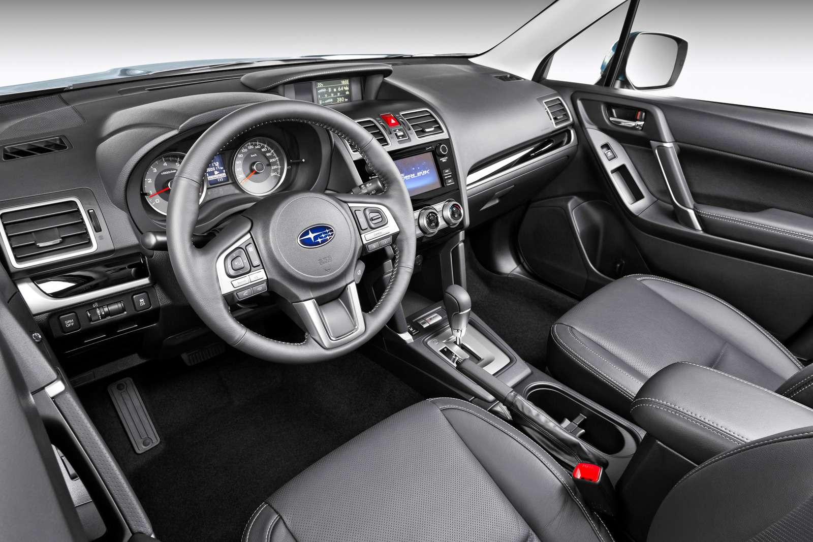 Обновленный  Subaru Forester: тише едешь...— фото 592865