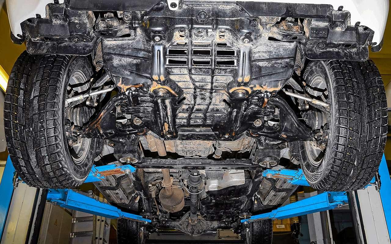 Toyota Fortuner, Mitsubishi Pajero Sport, Kia Mohave  — супертест — фото 855649