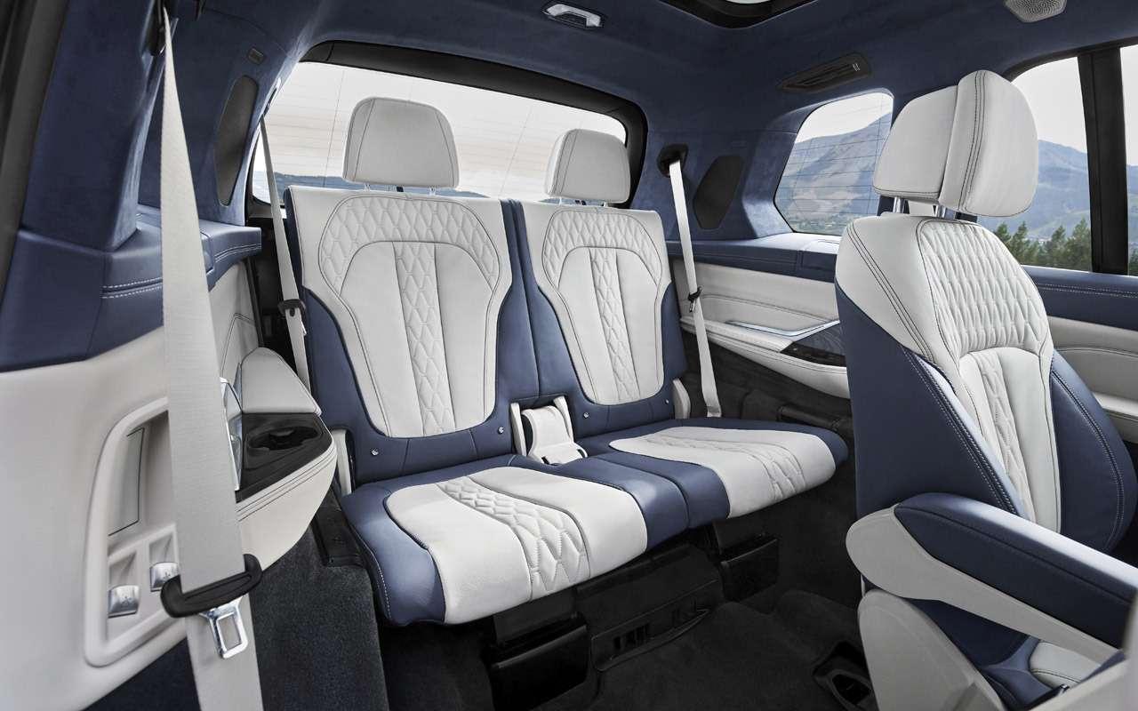 BMWX7: гигантский кроссовер иновый флагман. Цена вРоссии известна— фото 914988