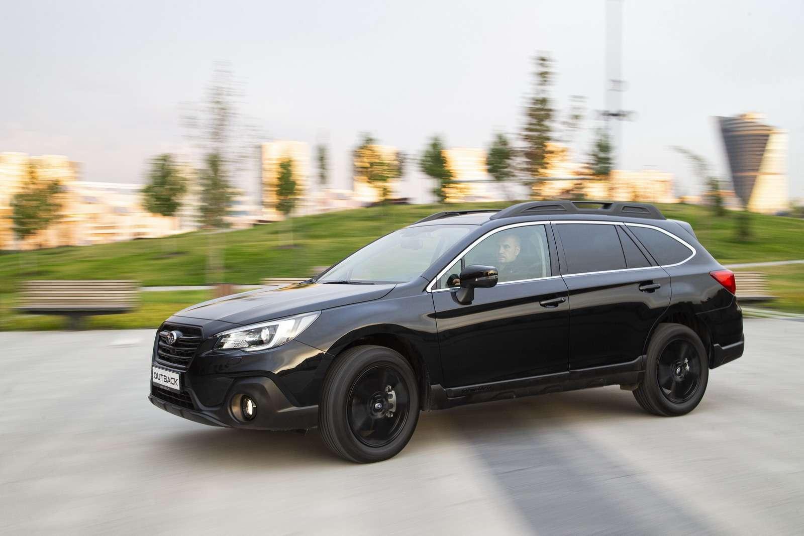 Новая версия Subaru Outback Black Line: уже скоро в России — фото 996747