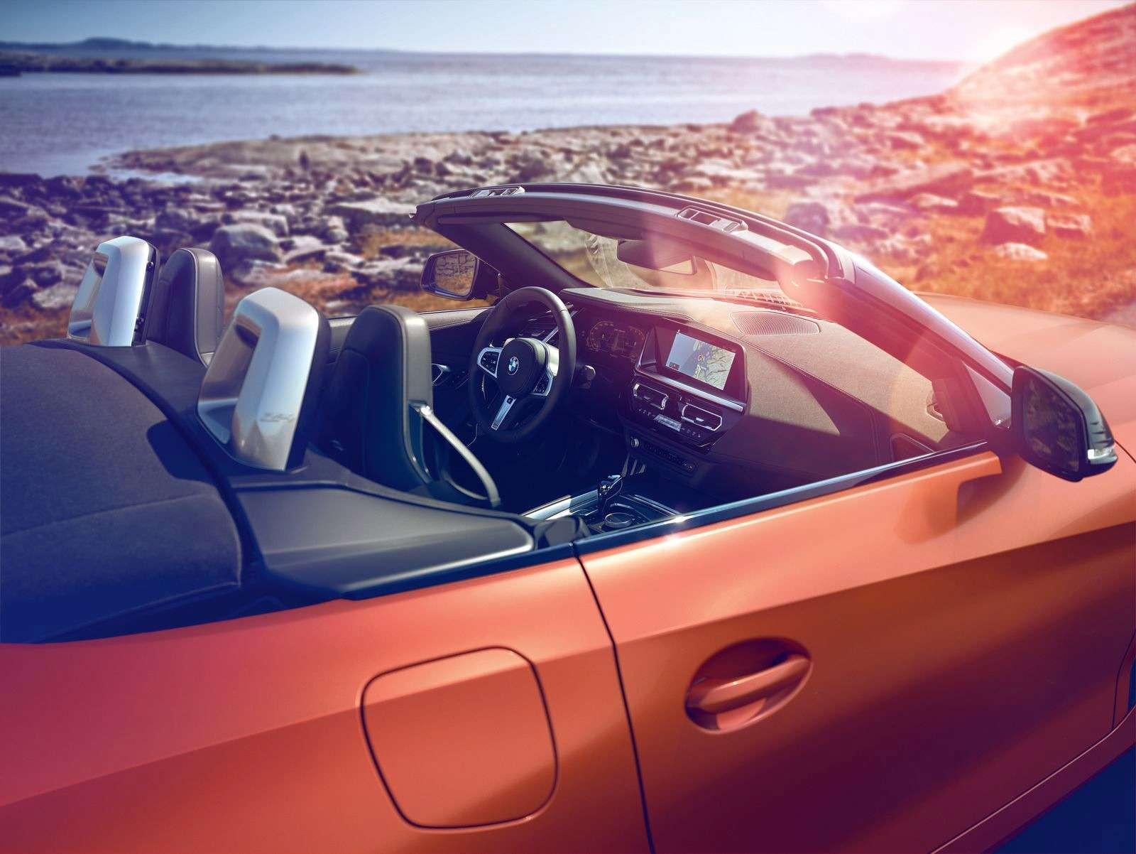 Новый родстер BMW Z4представлен официально— фото 898535