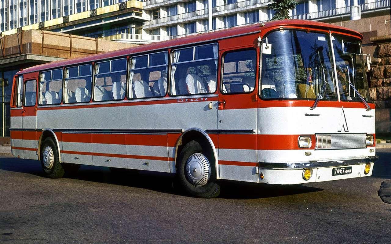 Автобусы изСССР— серийные иэкспериментальные— фото 1035339