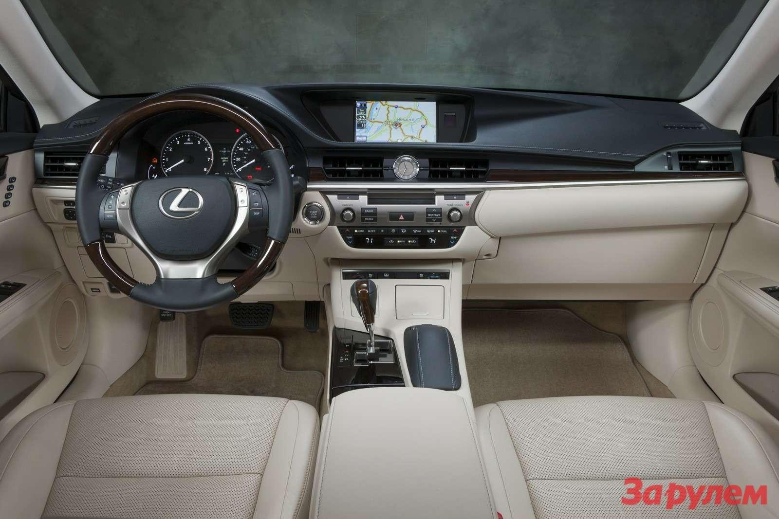 Lexus ES: перезагрузка впечатлений— фото 135056