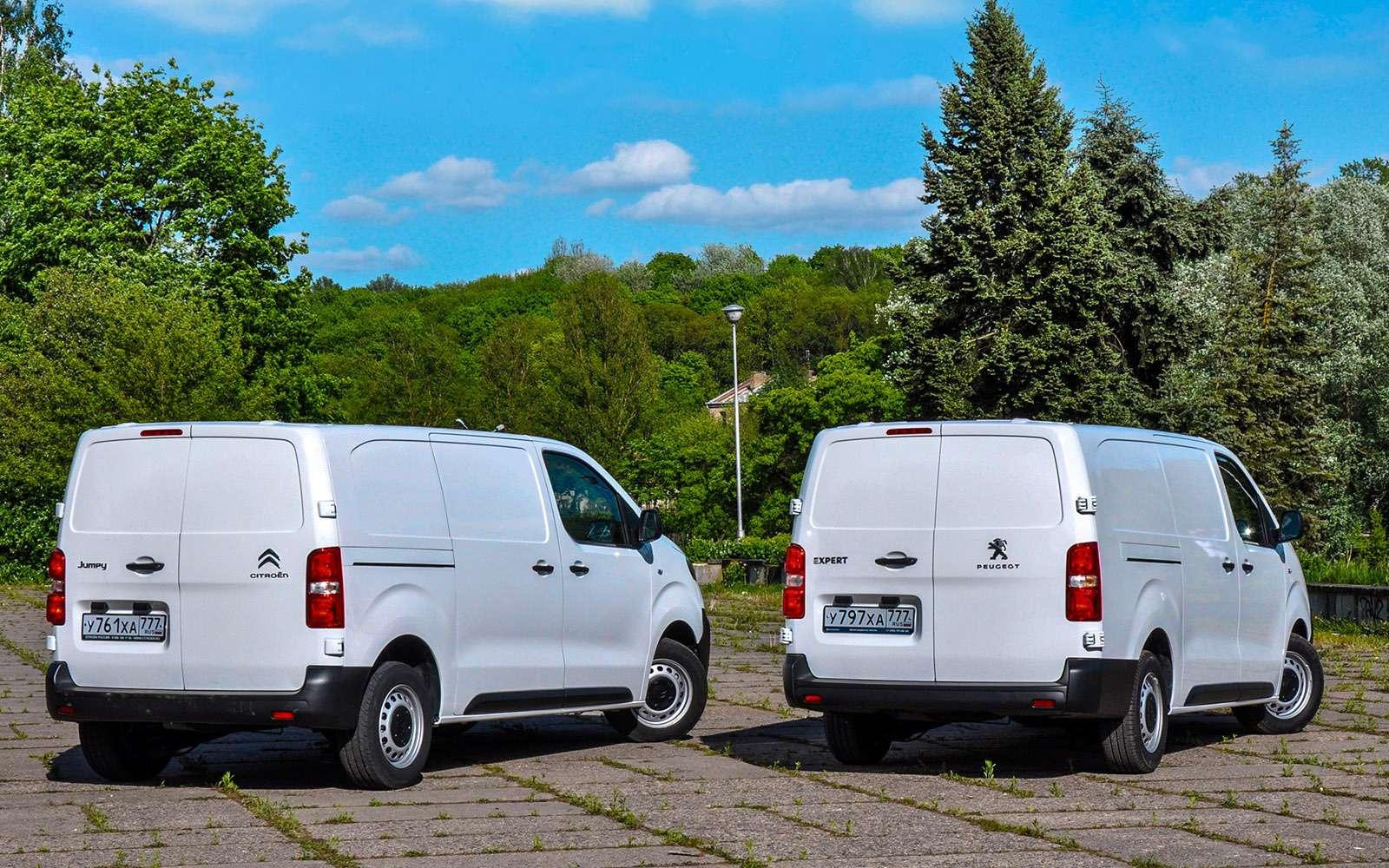 Фургоны Citroen Jumpy иPeugeot Expert: вся разница— вшильдиках— фото 769862