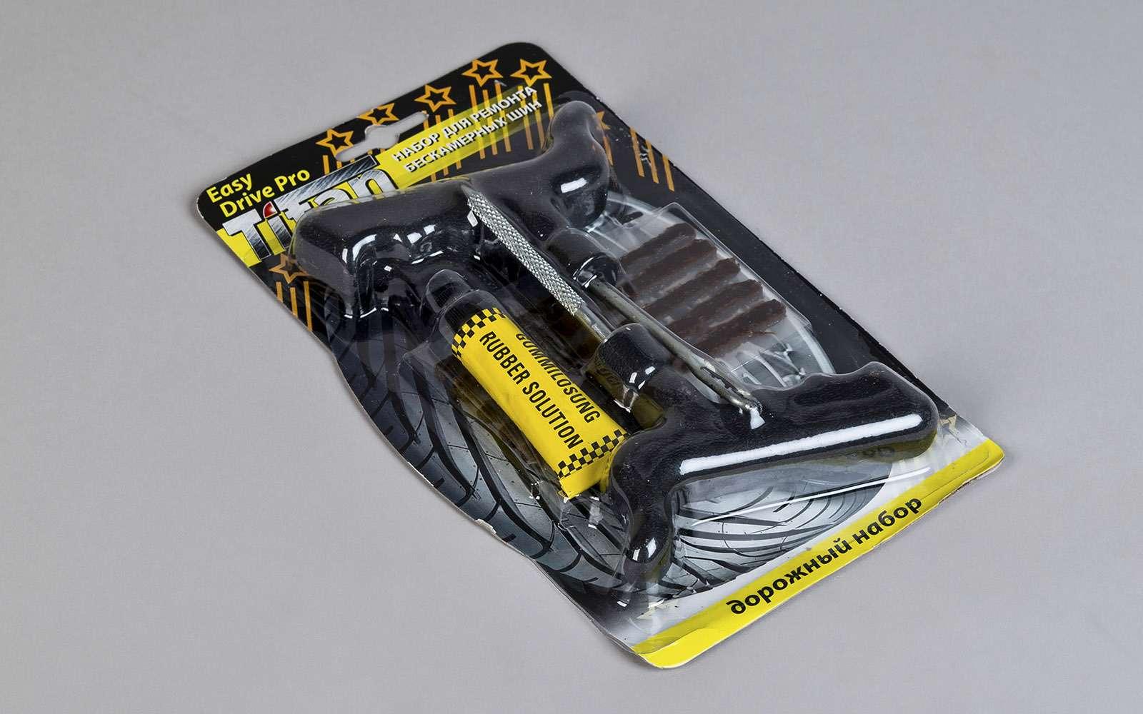 Ремонтируем проколотую шину—  тест 16ремкомплектов исоветы ЗР— фото 771835