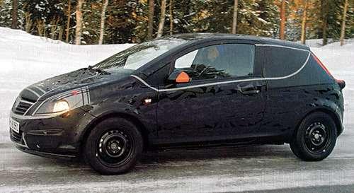 Первые шпионские снимки нового Opel Corsa— фото 106576