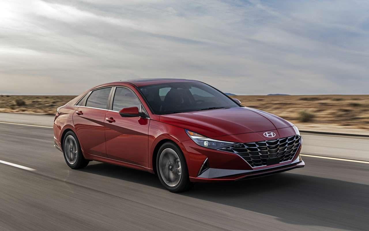 Hyundai Elantra— теперь четырехдверное купе— фото 1095375