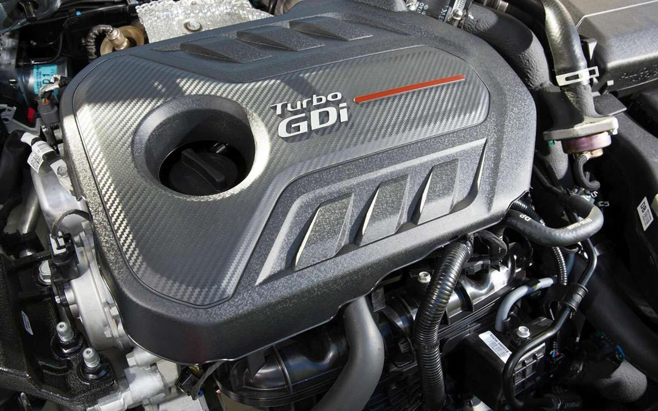 Двигатель стурбонаддувом