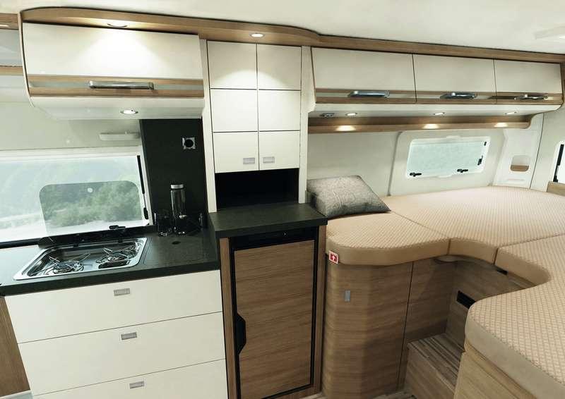 Премиальный автодом Malibu с«царской» кроватью