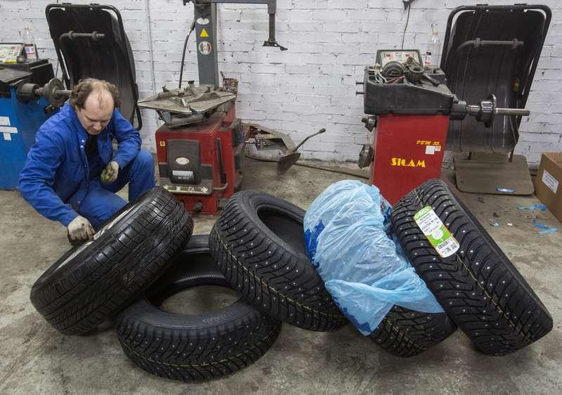 ВРосстандарте рассказали, как правильно хранить шины