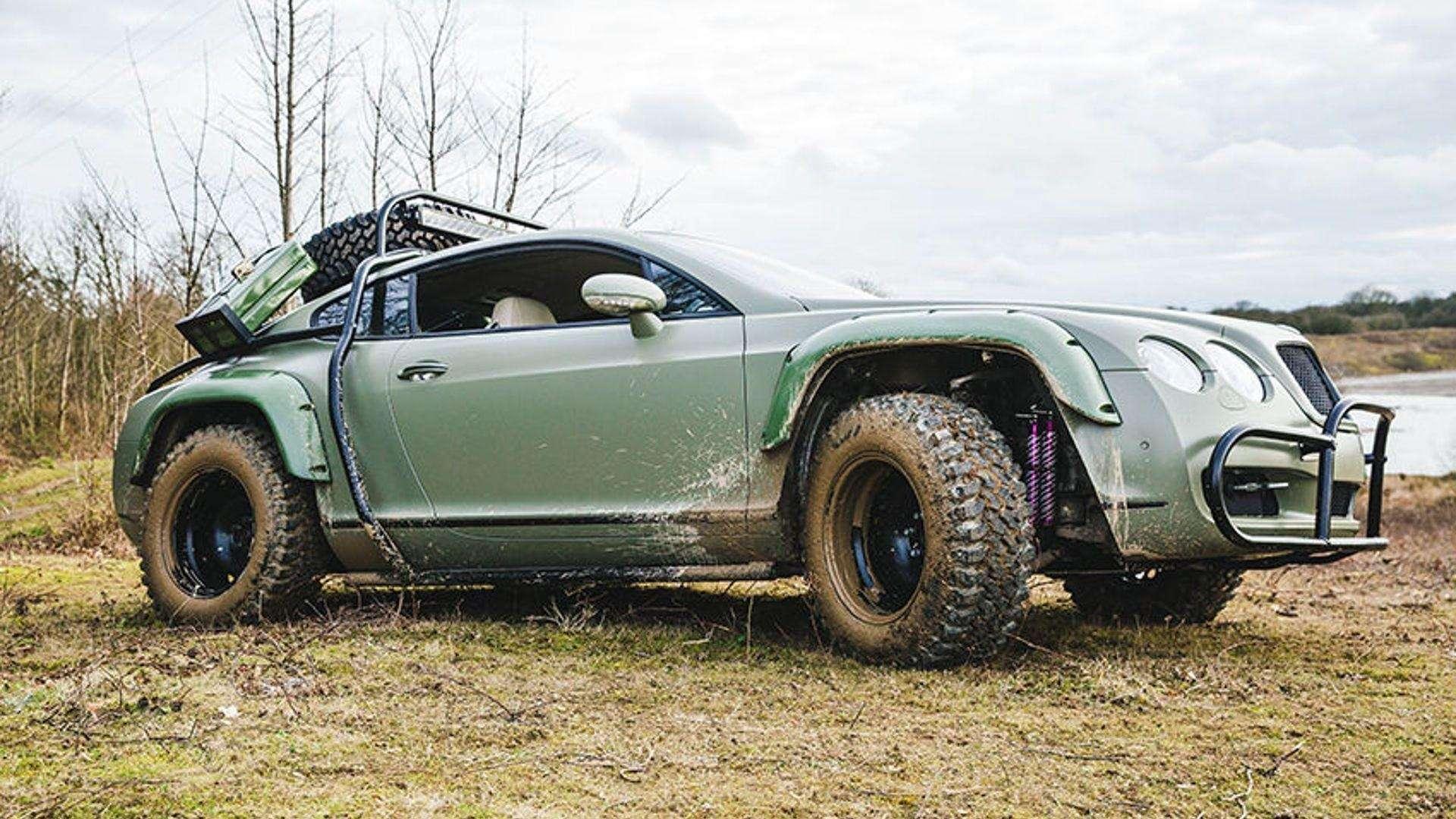 В Сети продали купе Bentley Continental GT, подготовленное дляапокалипсиса— фото 793171