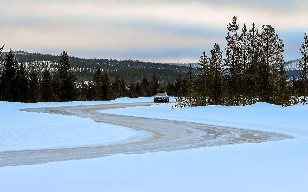 Зимние «липучки»: тест 14 шин на снегу и льду - фото 1171992