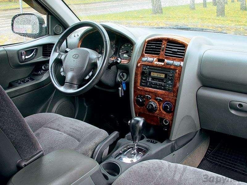 Комплектация Hyundai Santa Fe: Говорящая фамилия— фото 90656