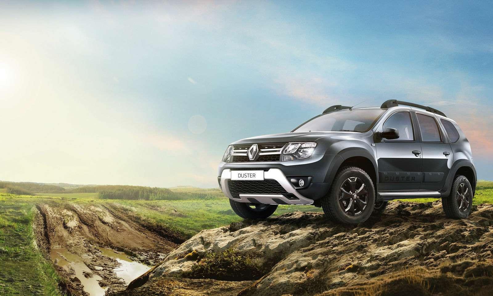 Новая версия Renault Duster— еще более внедорожная— фото 961415
