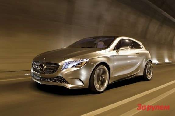 Mercedes-Benz Concept A-Class side-front view