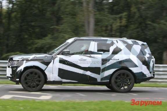 New Land Rover Range Rover side view