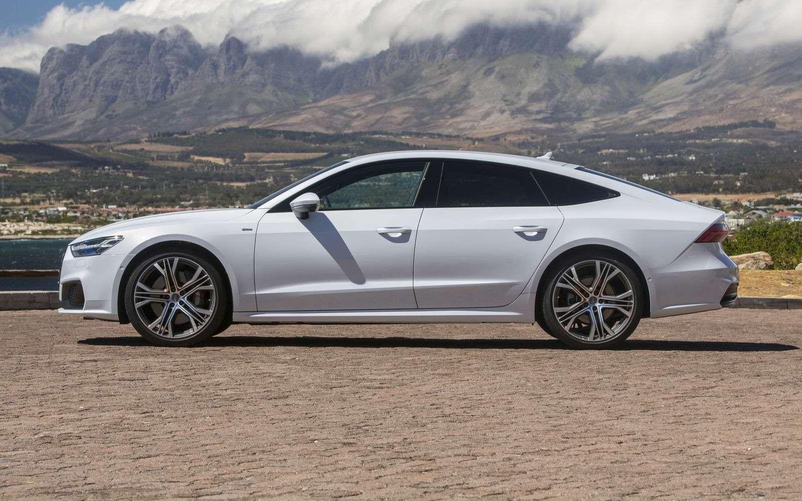 Новый Audi A7Sportback вРоссии: от4320000 рублей— фото 876035