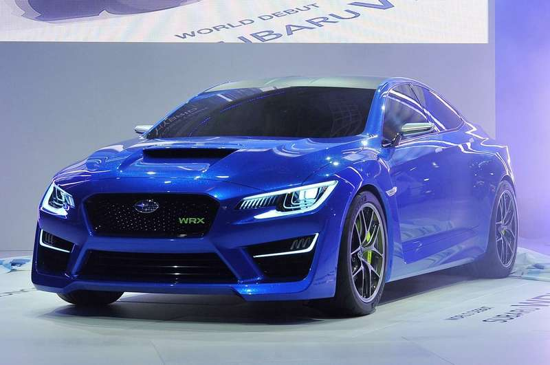 no copyright subaru wrx concept  new york