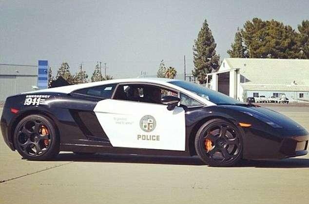 Лос-Анджелеские копы обзавелись Lamborghini Gallardo