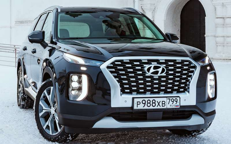 Hyundai Palisade: 3плюса, 2прокола имного места длядетей