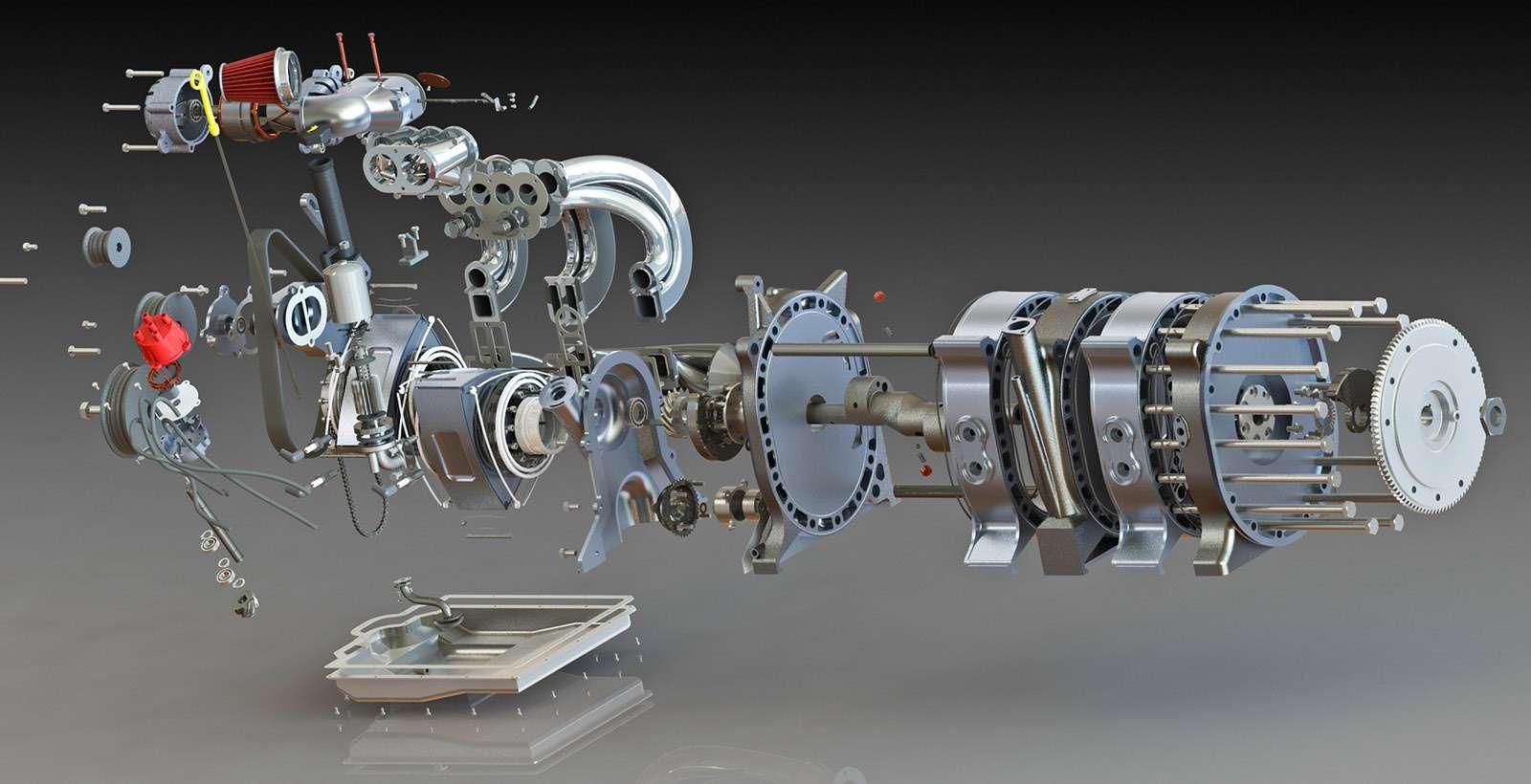 Роторный двигатель: между прошлым ибудущим— фото 667506