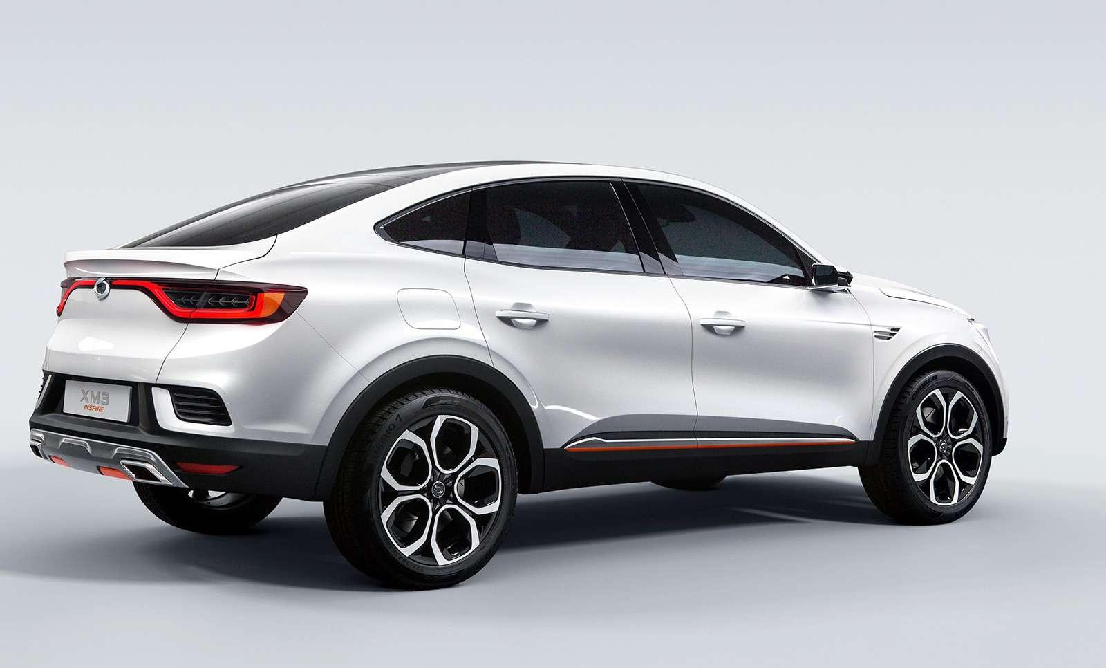 Renault Arkana: новое имя ипрописка— фото 961333