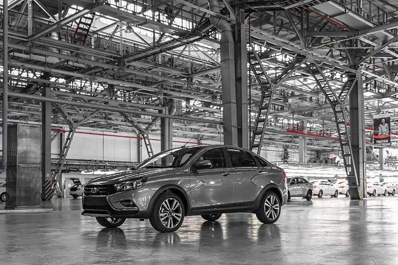Седан Lada Vesta Cross: производство началось. Когда его ждать впродаже?