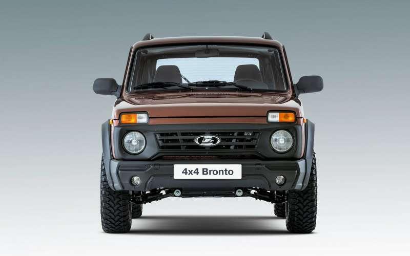 Лада  4x4 Bronto— самая дорогая версия джипа