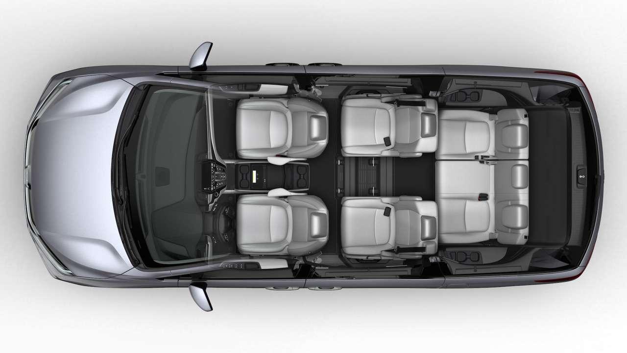 Домохозяйки аплодируют: Honda представила новый минивэн Odyssey— фото 690585