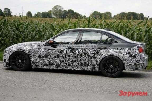 BMW M3 sedan side view