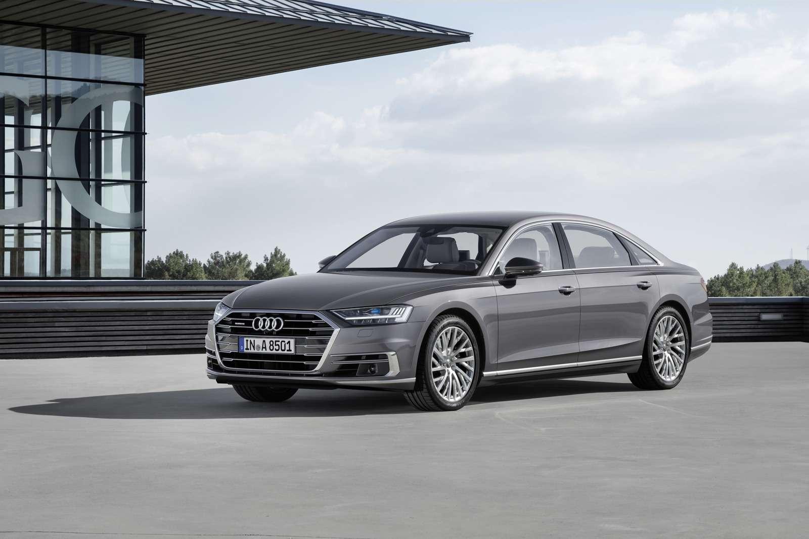 Технорывок Audi— премьера А8— фото 773534
