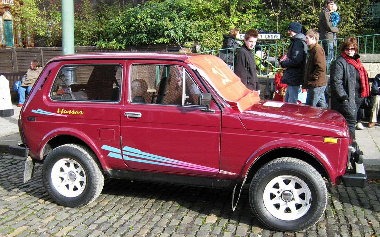 Lada 4x4 глазами иностранцев: старомодная, нохороша набездорожье— фото 899777