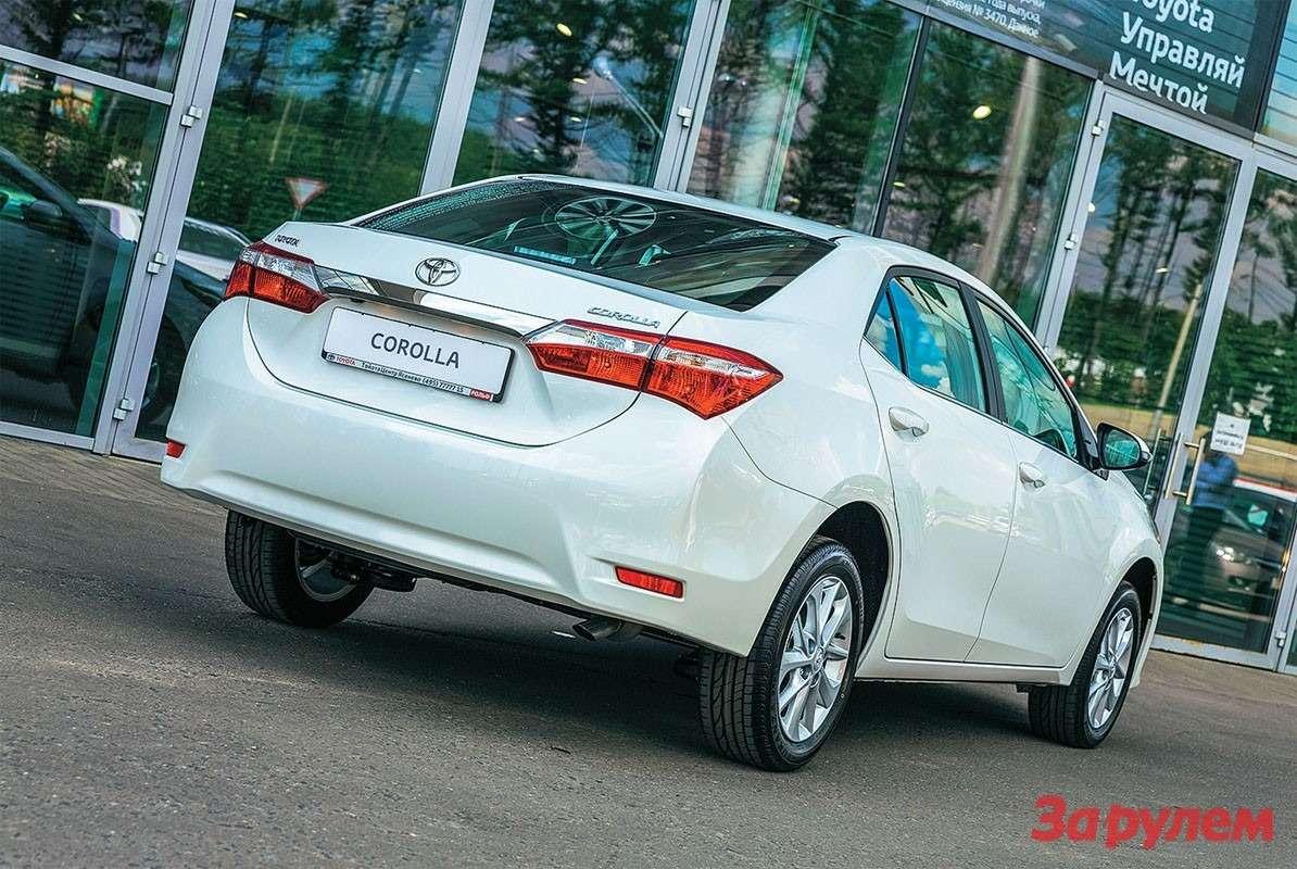 Toyota Corolla новый дизайн