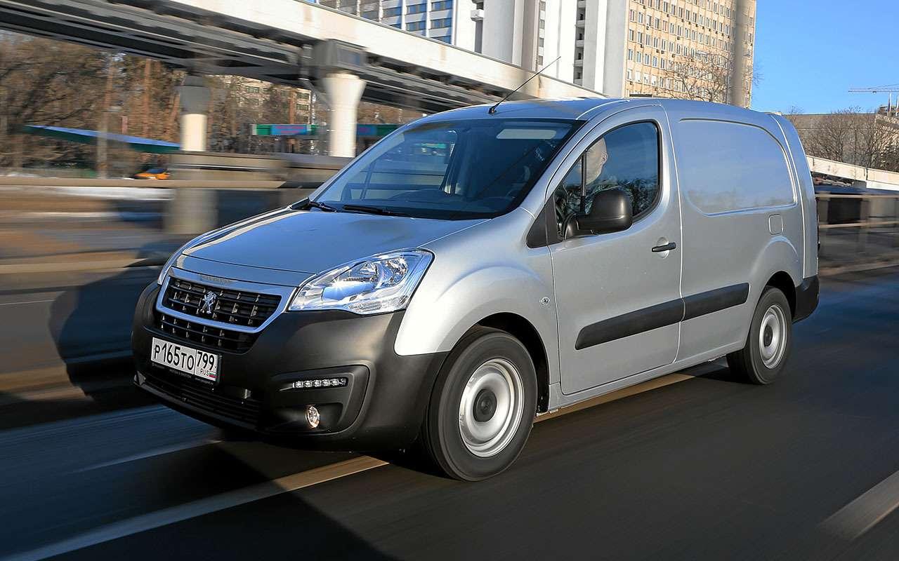 Peugeot Partner российской сборки: 5плюсов и2минуса— фото 1224220