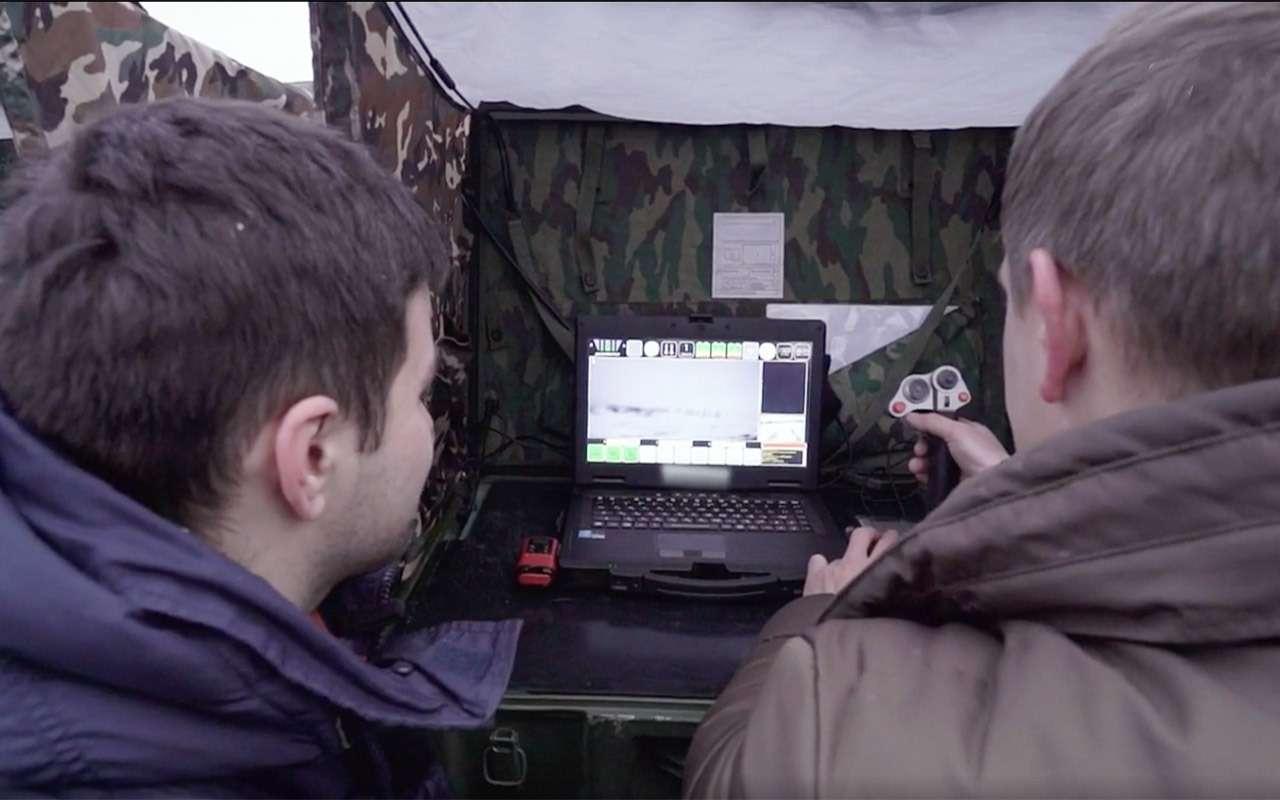 Бесконечный дозор: тест-драйв боевого робота «Нерехта»— фото 915637