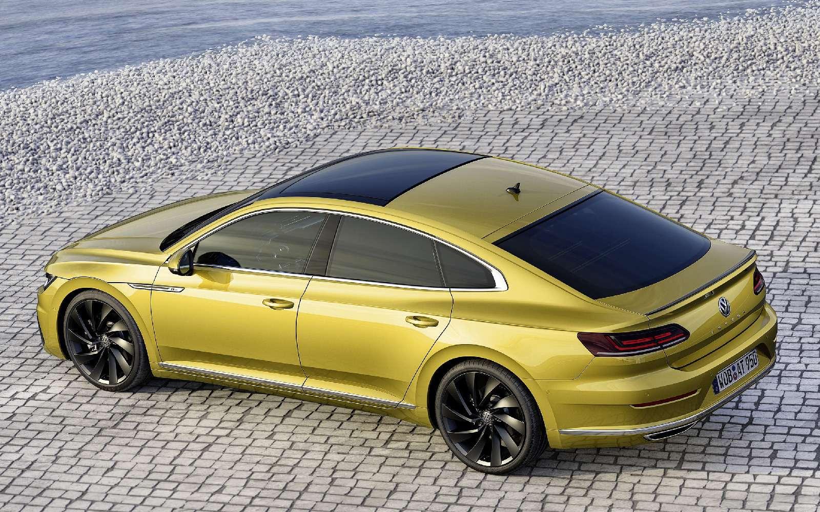 Volkswagen Arteon: это вам неЦе-Це!— фото 717144