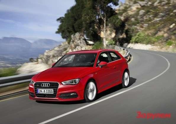 Audi A31.8 TFSI quattro mit Sline Exterieur-Paket /Standaufnahme