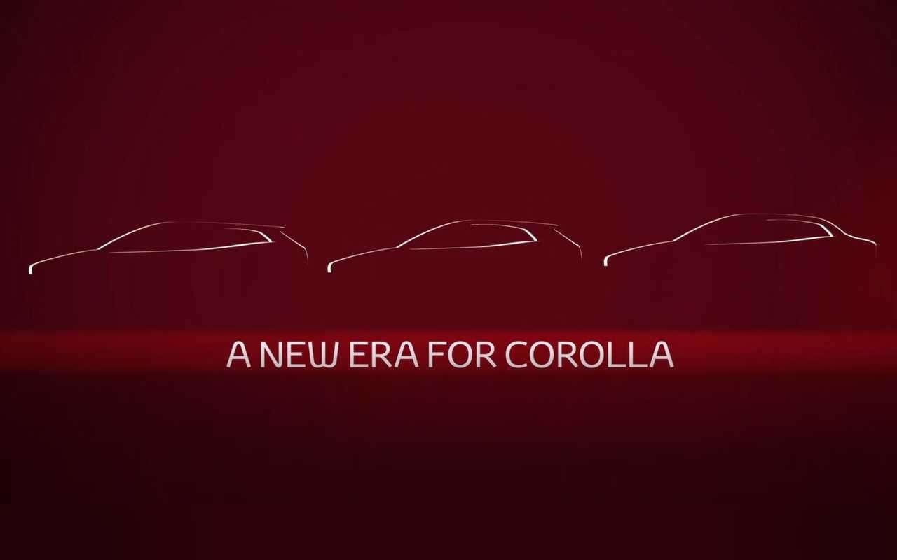 Новый седан Toyota Corolla: первое фото идата премьеры— фото 922100