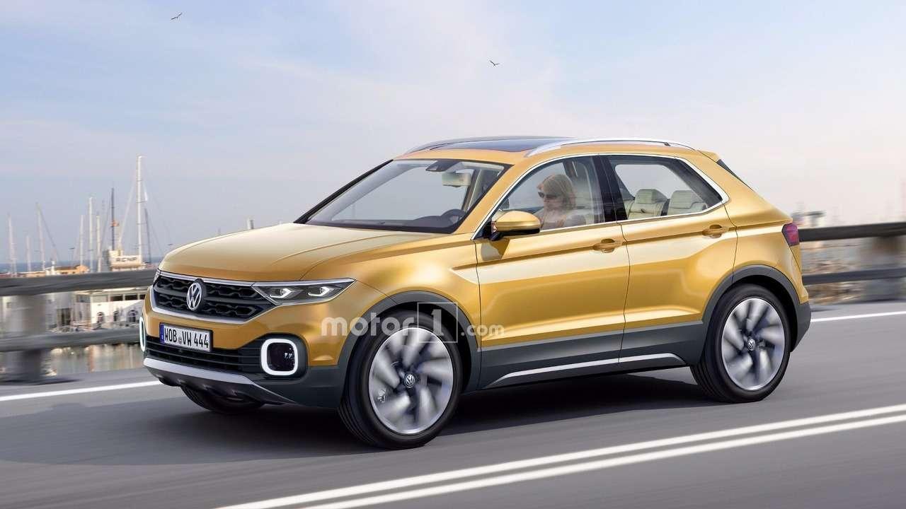 Центральный нападающий: каким будет новый кроссовер Volkswagen— фото 663396